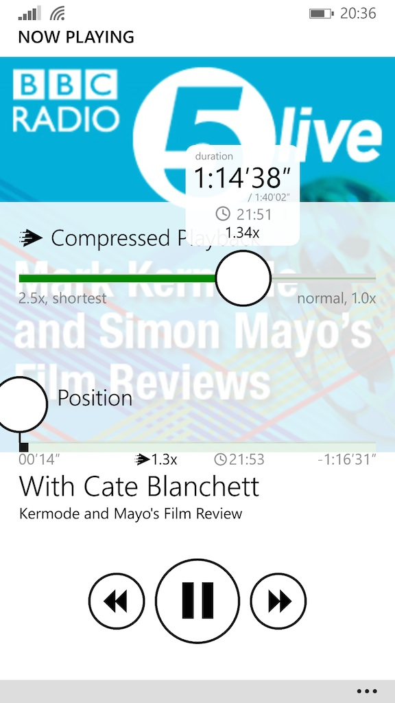 how podcast works on windows phone